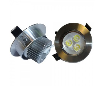Downlight led 8W luce calda